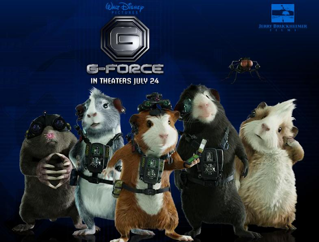 Disney's G-FORCE movie