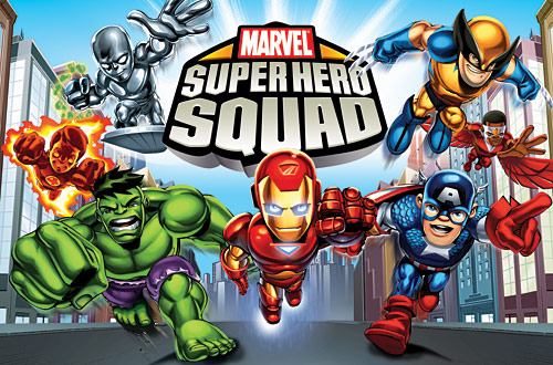 marvel superhero squad animation