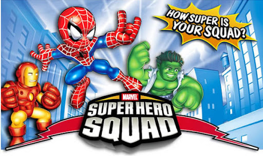 marvel super hero squad poster