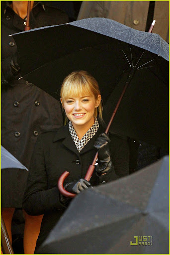 Emma Stone as Gwen stacy in 2012 spider-man reboot