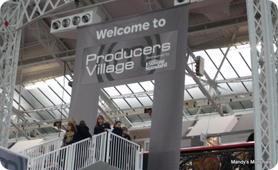 Producers village sign