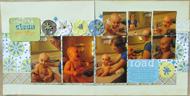 Family 2009- Blakes bath in hotel