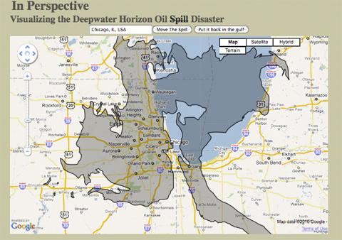 Spill Map