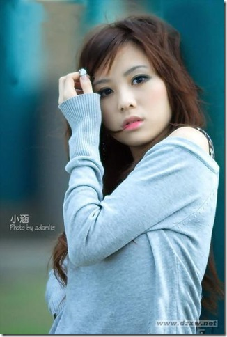 beautiful girl XiaoHan (5)