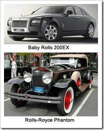 Rolls Royce mobil