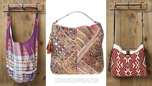 Una opción mucho más económica son los bolsos con espejitos y de estilo hippie que venden en asraistyle.com. Tienen bastantes modelos y el precio ronda
