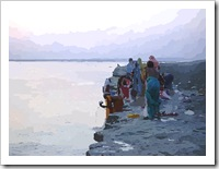 Women at Ganges