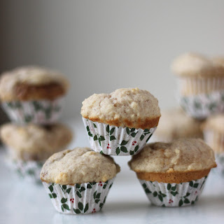 Cinnamon Cookie Butter Mini Muffins