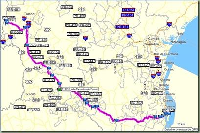 Mapa para SH