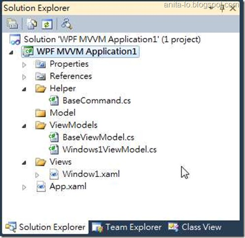 WPF MVVM Project