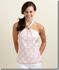 Polka Dot Jockey Silks Halter