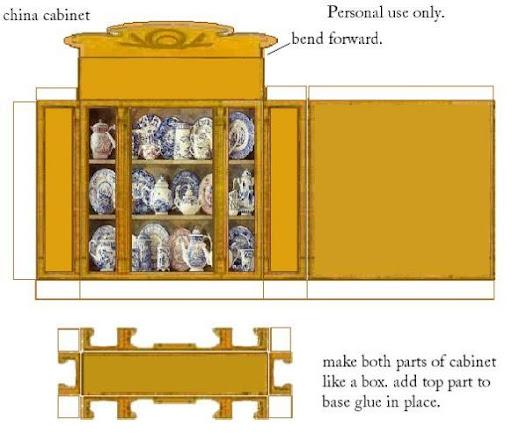 24Шкафы из картона схемы