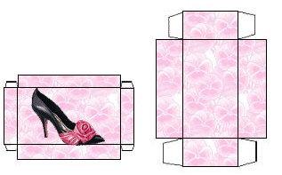 Как сделать кукле коробку для обуви