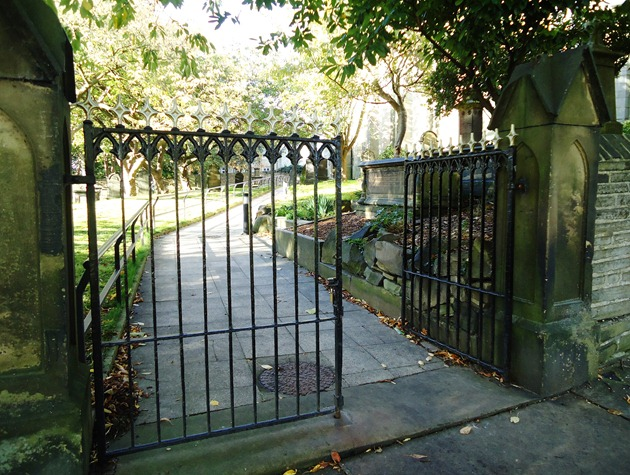 The open church gate