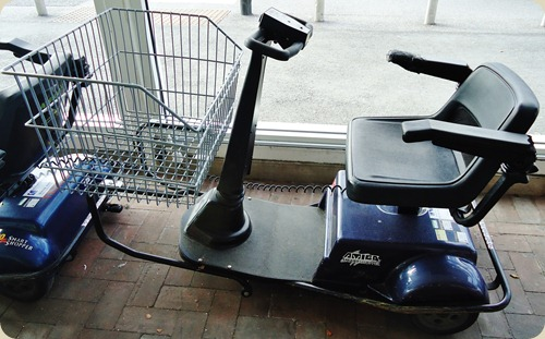 Tesco Shopping mobility scooter