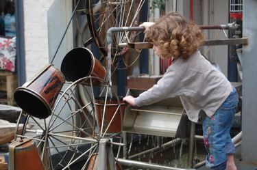 The fountain machine at Old Biscuit Mill Market