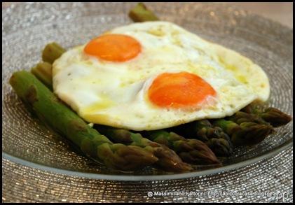 asparagi uova tartufo e olio evo