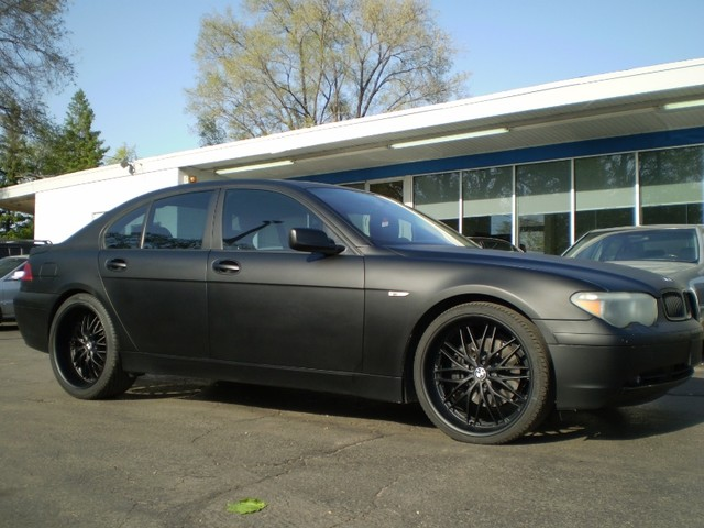 Im Interested In Matte Blacking Out My Li Bimmerfest - 2009 bmw 745li
