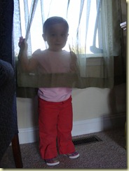 April 2010 - Camryn thinks she's hiding