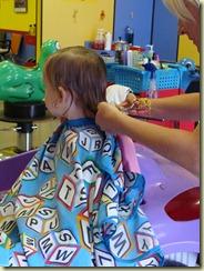 August 2010 - Camryn's first haircut (4)