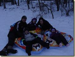 January 2011 - Sledding