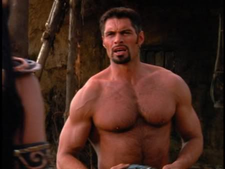 Whose movies I do like, btw. Rather, the one who played Ares on Hercules and