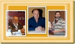 Eduardo Mangada, Jordi Borja, Pedro Mañas