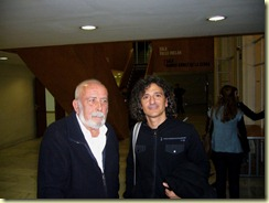 Eduardo Mangada y Martín Carril