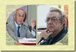 Víctor Márquez Reviriego y José María Izquierdo