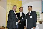 Großes Bild - Michael Kohlfürst beim Erhalt der CMC Verleihung 2009