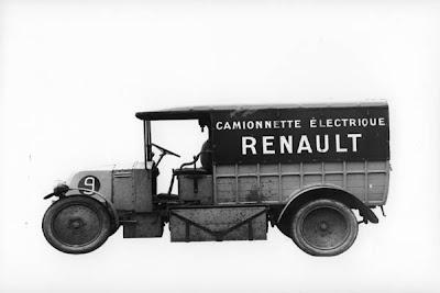 Электромобиль Renault 1924 года