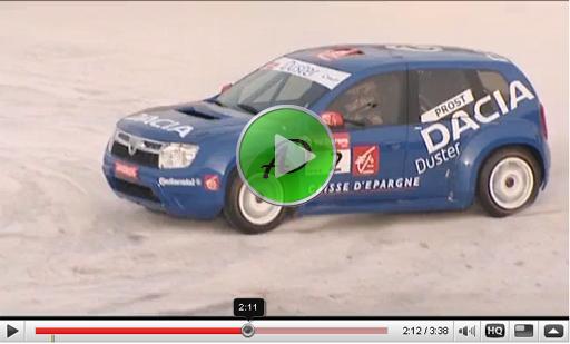 Видео Гоночной Dacia Duster