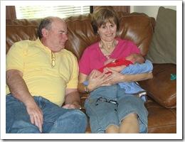 Papa, Ammy & Reid - week 1, First day they met Reid!