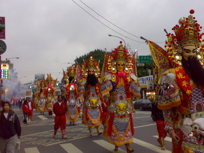Mazu procession