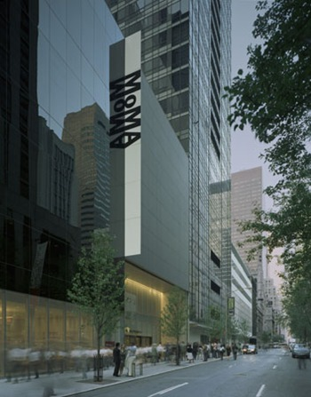 The Museum of Modern Art, designed by Yoshio Taniguchi. Entrance at 53rd Street.  © 2006Timothy Hursley