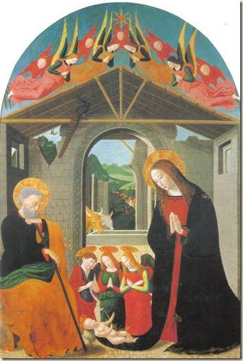 The Nativity 15th century Maestro Esiguo
