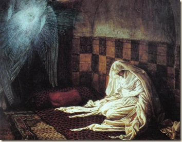 The Annunciation James Tissot