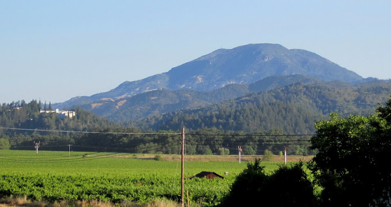 View of Mount Saint Helena from Napa State Park