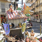 Falla infantil Pintor Salvador Abril-Pedro III El Grande 2011