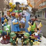 Falla infantil L'Alguer 2011