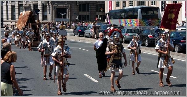Desfile Romanos