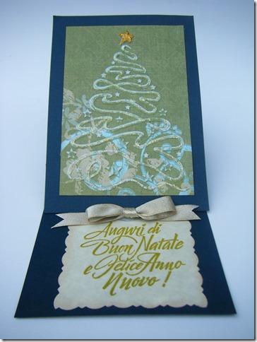 CARD NATALE VERDE