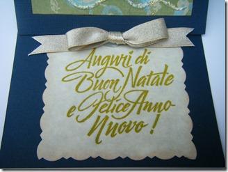 CARD NATALE VERDE TAG