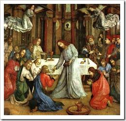 the institution of the eucharist, joos van wassenhove