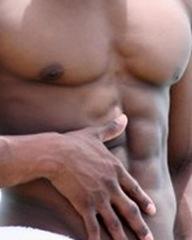sexy black guy
