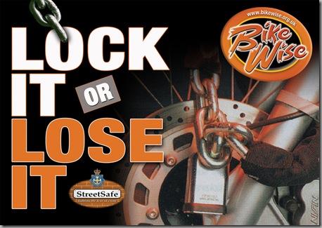 BikeWise - Lock It or Lose It