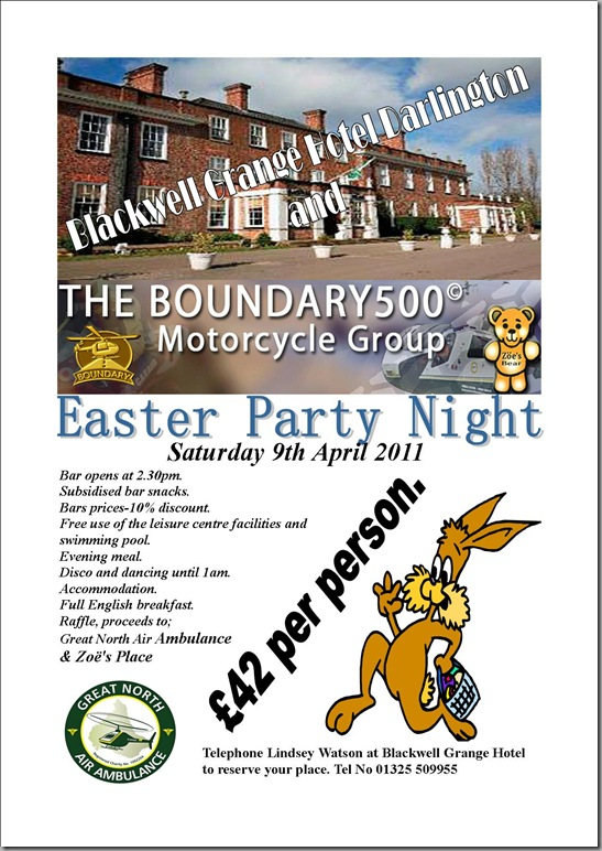 Boundary500 - Easter Party