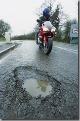 Click HERE to Report A Road Defect