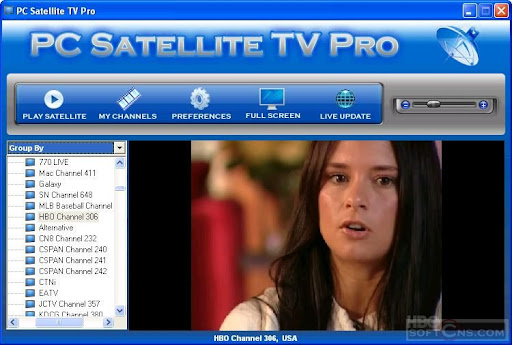 PC Satellite TV Pro 1.0 + Patch (TV En Tu PC)