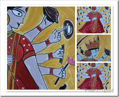 Durga Mosaic